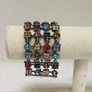 Jewelry - Multi colored crystal bracelet
